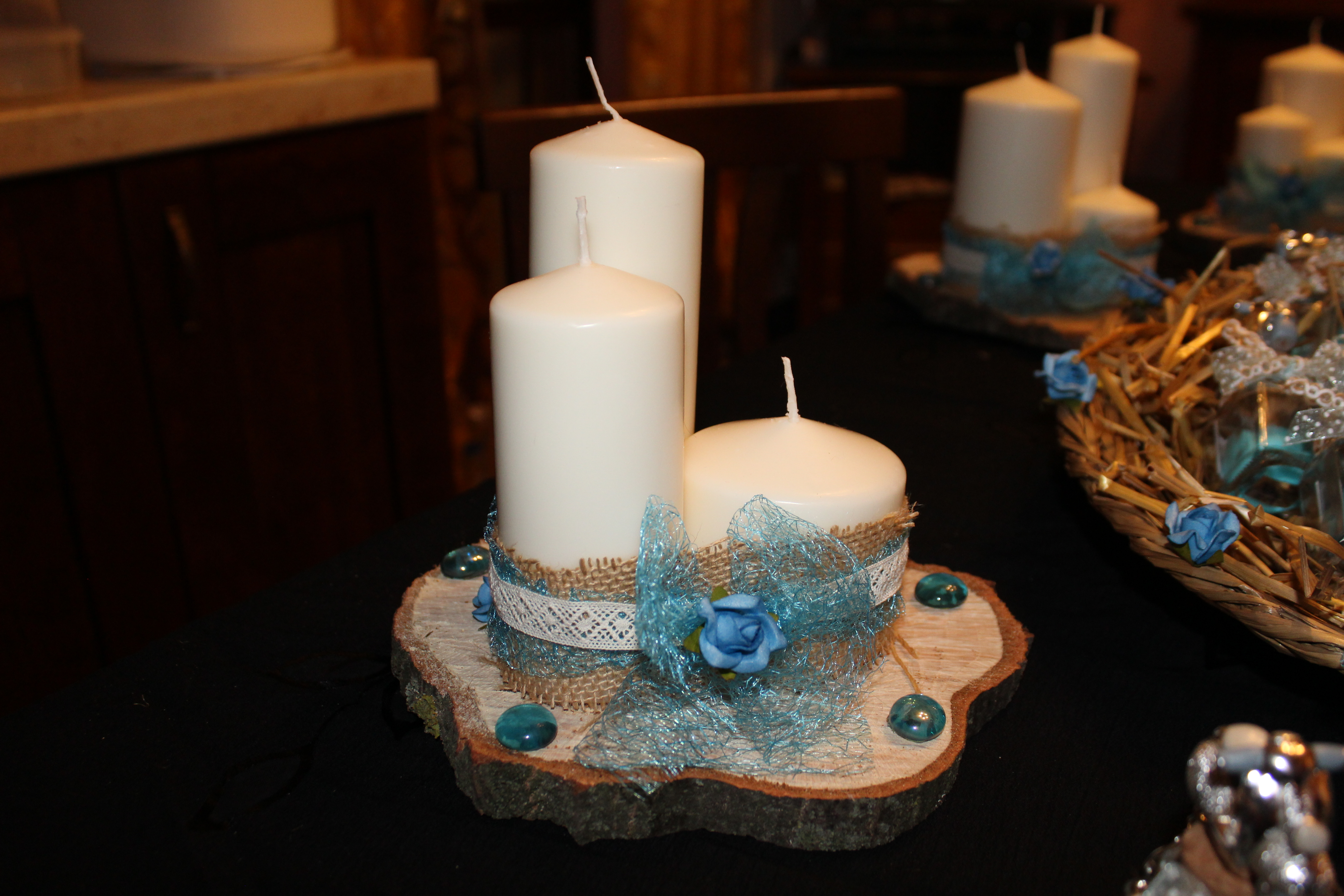Battesimo: Bomboniere, inviti e centro tavola  Paola Rossato