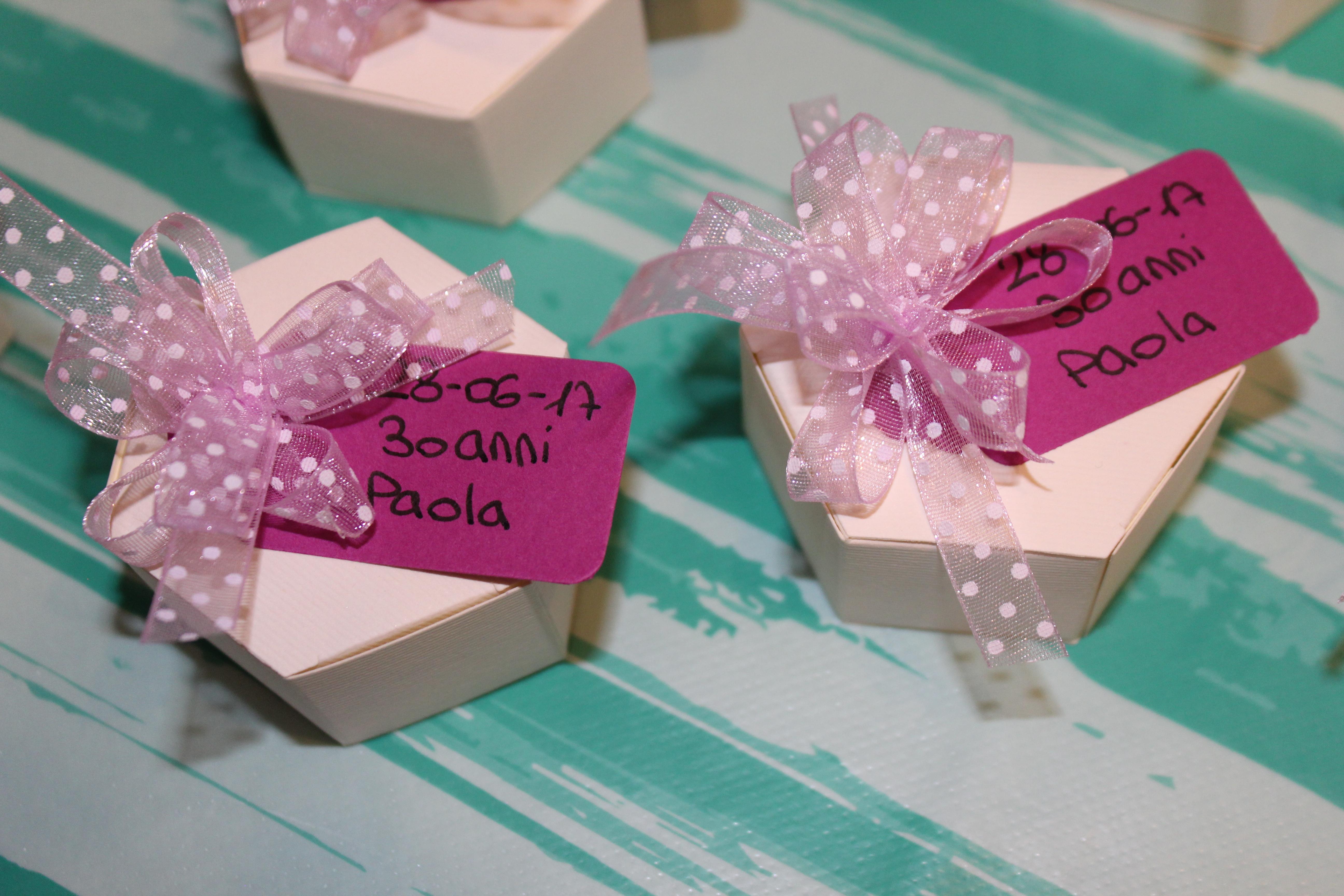 Famoso Compleanno: Piccole bomboniere di ringraziamento | Paola Rossato DU67